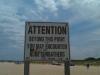 damaged naked beach